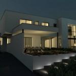 photo de belle maison contemporaine