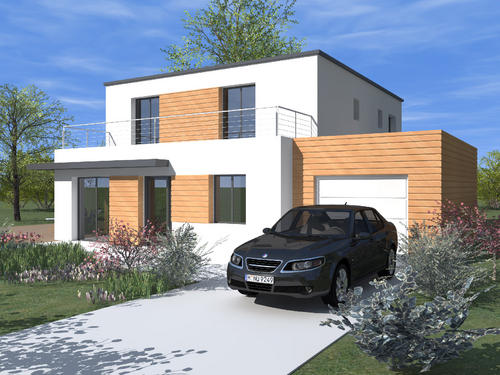 Photo de belle maison contemporaine for Belles maisons contemporaines