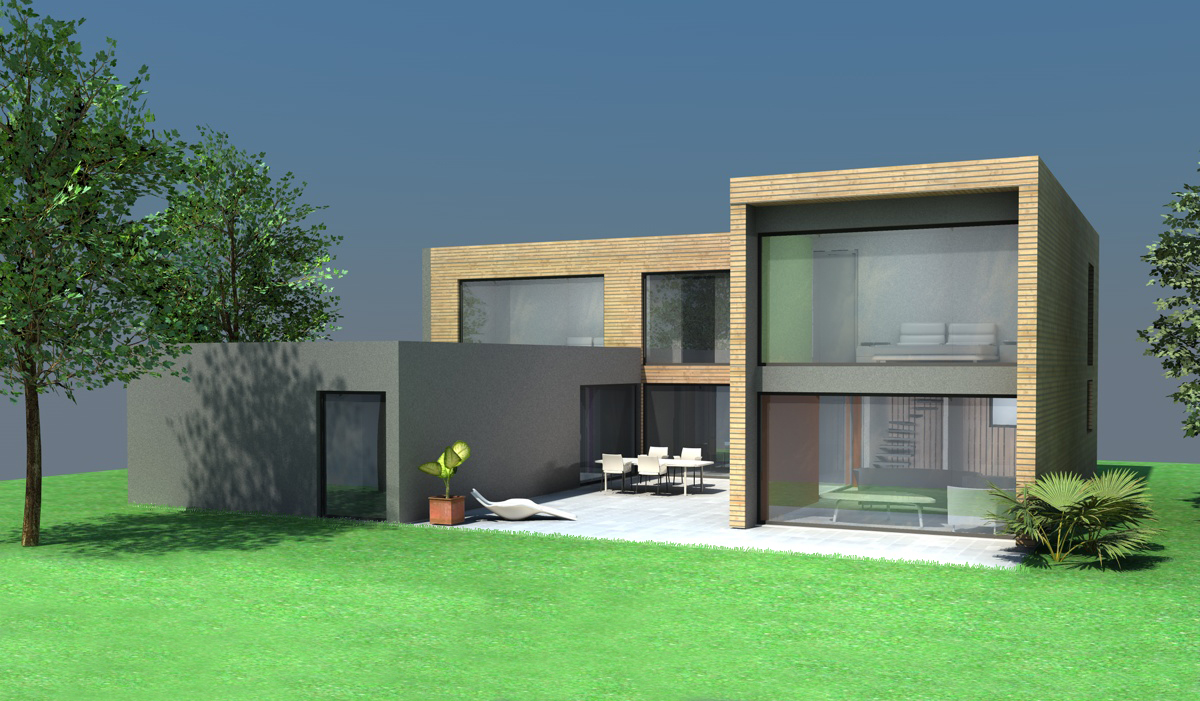 Maison moderne com for Maisons contemporaine
