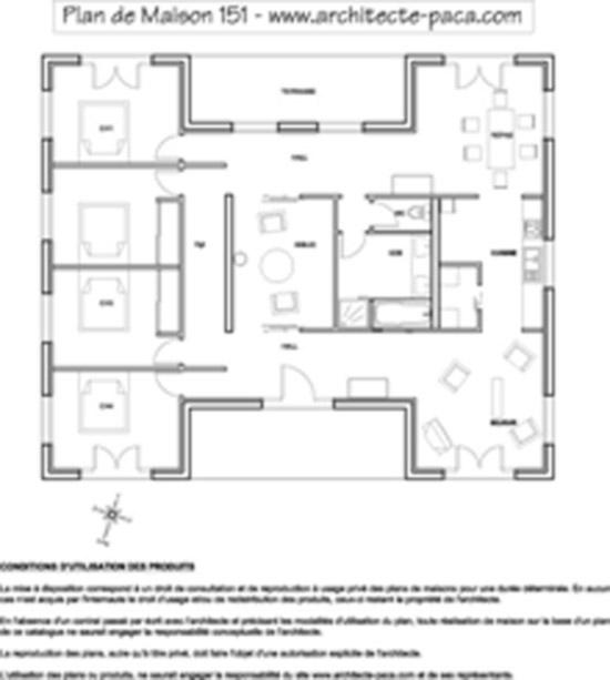 Photo de maison d 39 architecte plain pied - Maison architecte plain pied ...