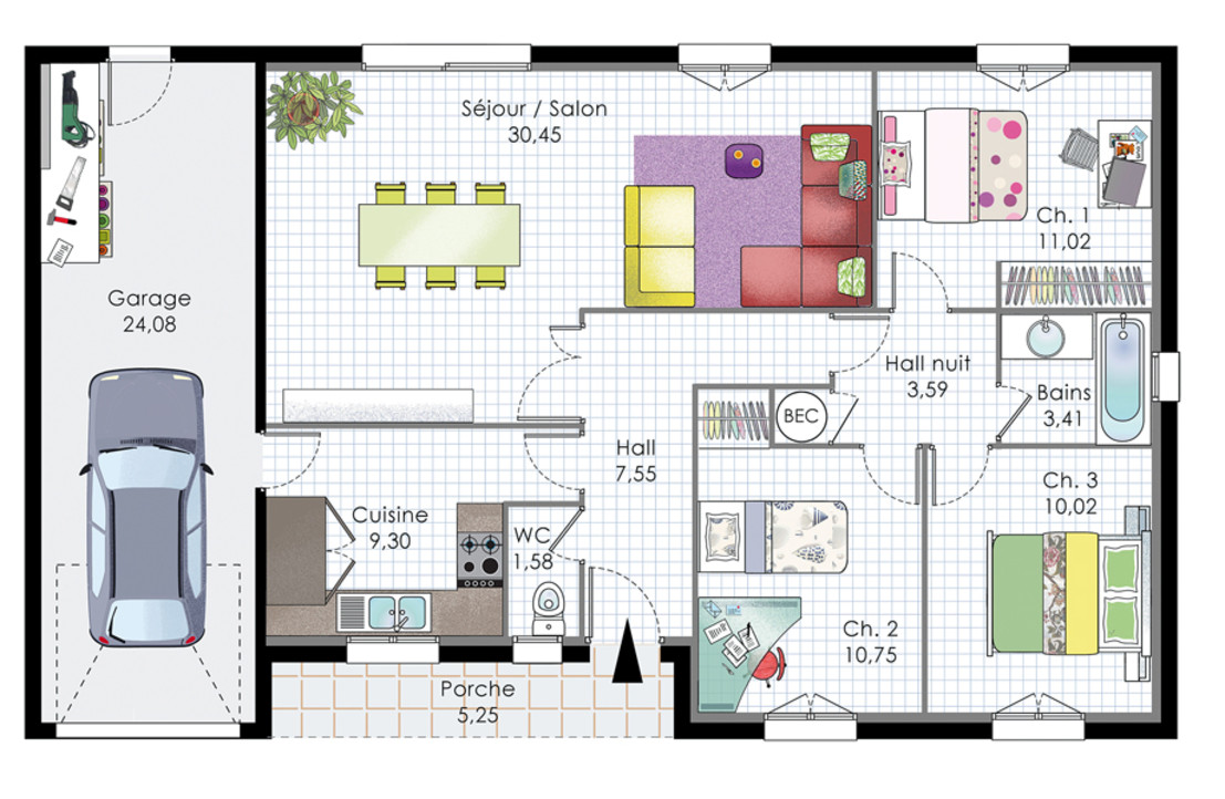 decoration maison moderne pdf plan de maison plain pied - Decoration De Maison Pdf