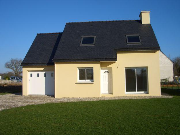 Photo de maison neuve for Exemple de maison neuve