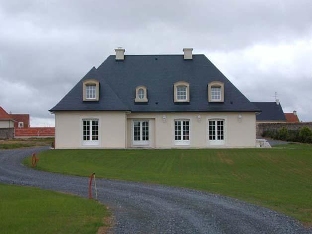 Photo de maison neuve for Modele maison neuve
