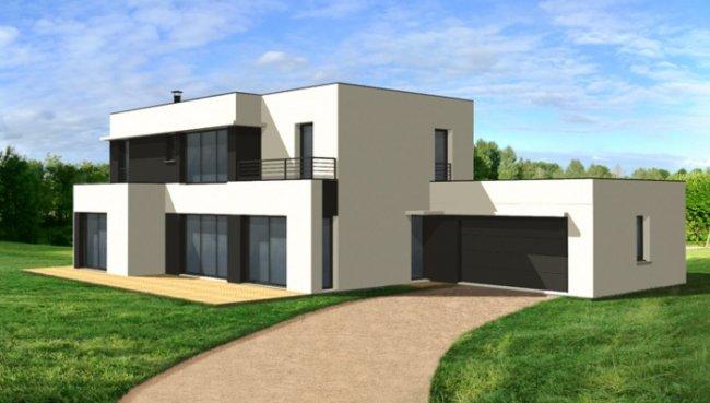 Photo de maisons contemporaines for Inspiration maison