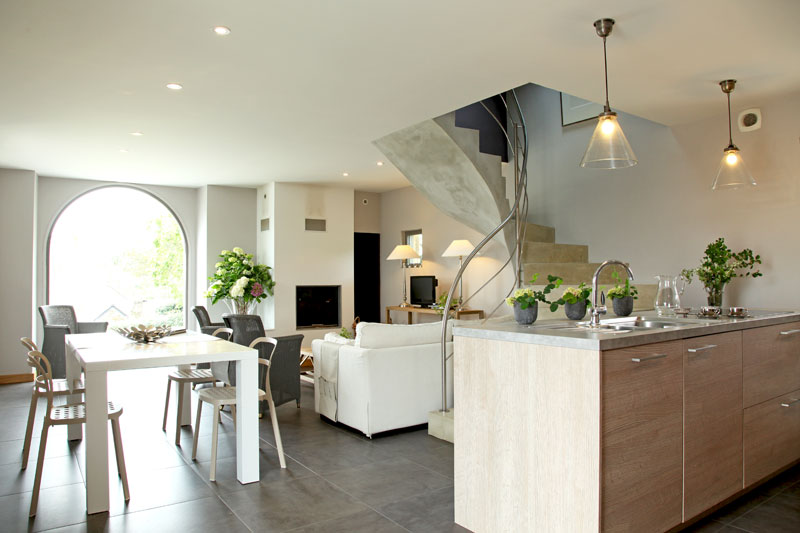 Photo deco interieur maison moderne for Modele interieur maison contemporaine