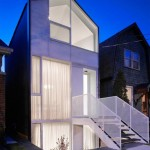 photo facade de maison moderne