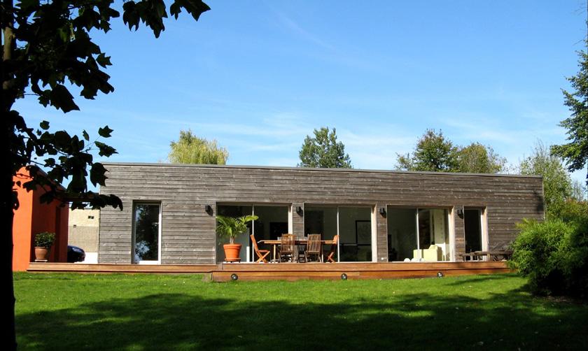 Architecte maison moderne excellent chra maison moderne for Architecte exterieur maison