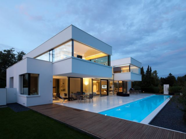 photo maison moderne architecte tendance