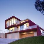 photo maison moderne cube