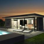 photo maison moderne exterieur