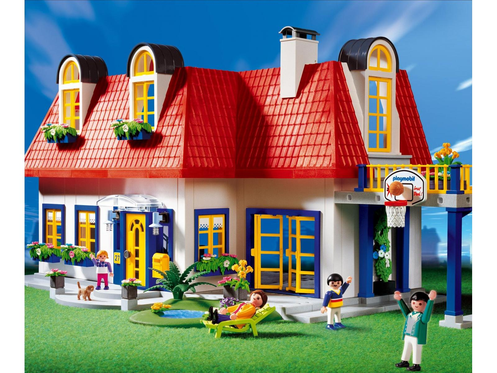 Photo maison moderne playmobil for Idee maison moderne
