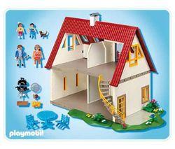 Photo maison moderne playmobil for Casa moderna de playmobil 123