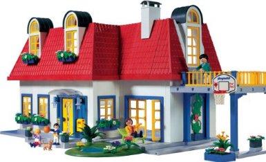 Photo maison moderne playmobil for Casa moderna de lujo playmobil