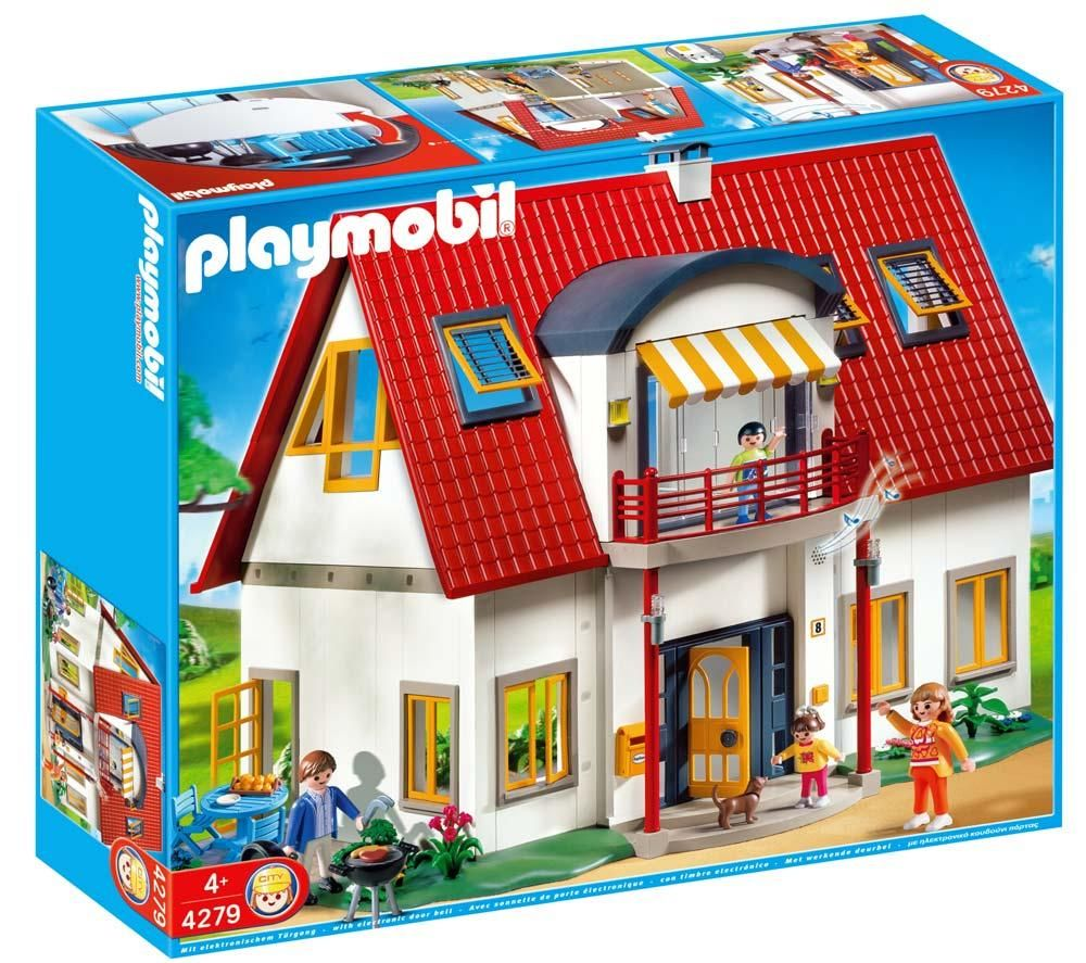 Playmobil Maison Moderne 2014 : Maison moderne playmobil tendance