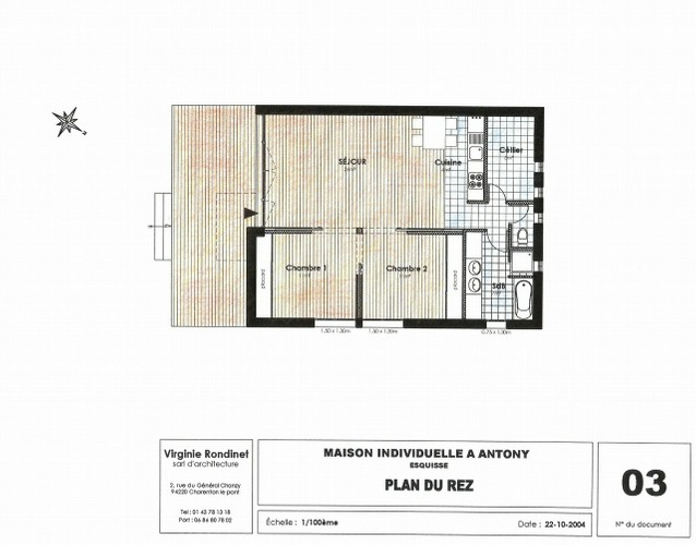 Plan petite maison d 39 architecte for Plan architecte maison