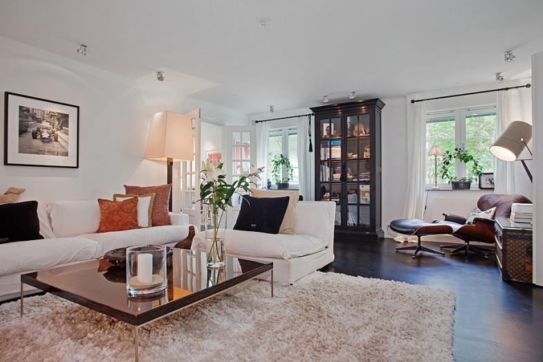 Maison moderne interieur - dry wired