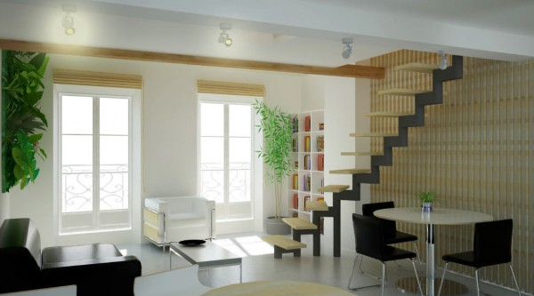 photos interieur maison d�architecte