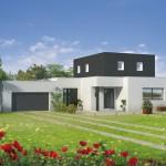 photos maison contemporaine toit plat
