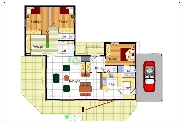 Modele de maison moderne interieur - Mc immo