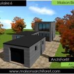maison de star moderne toit plat