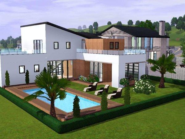 Maison des iles moderne for Petite villa moderne