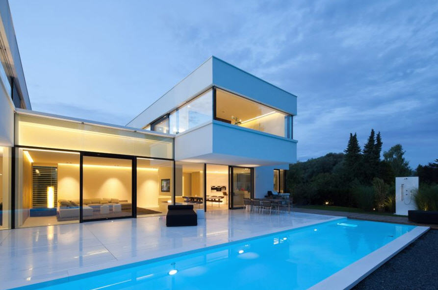 Maison design contemporaine - Belle architecture maison ...