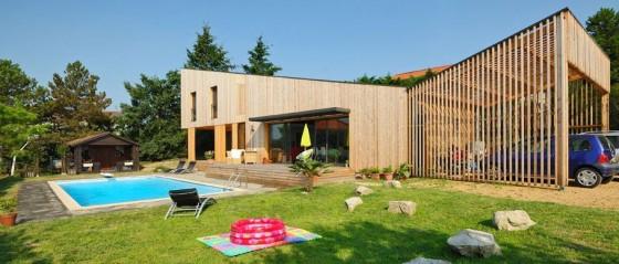 Maison en kit avec piscine toit plat - Voir maison avec adresse ...