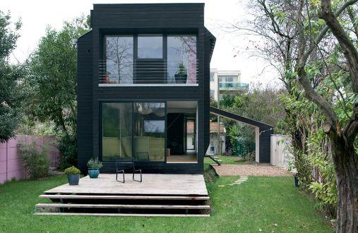 maison contemporaine bois en kit avec des id es int ressantes pour la conception. Black Bedroom Furniture Sets. Home Design Ideas