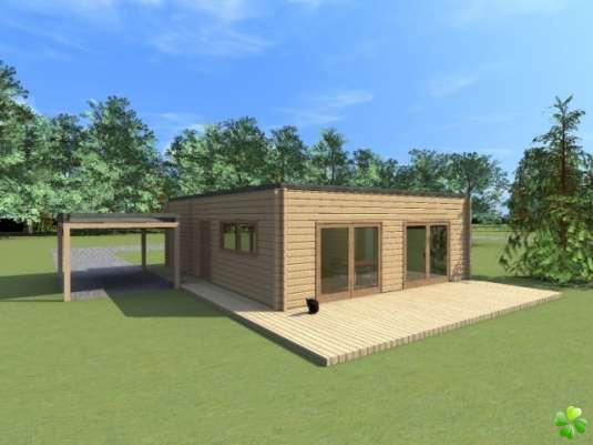 Jolie maison en kit moderne for Jolie maison moderne