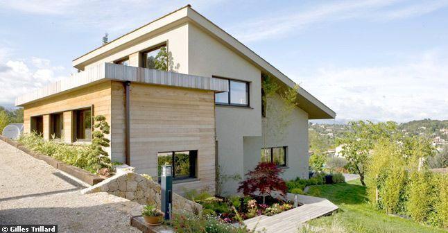 Maison neuve contemporaine for Modele maison neuve