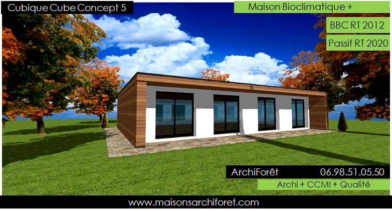 Maison originale d 39 architecte toit plat prix - Maison originale krk turato architectes ...