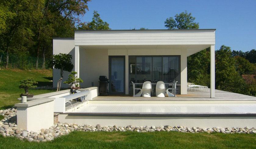 Belle Maison En 2014 : Originale d architecte toit plat