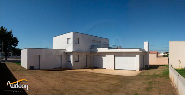 Maison provencale toit plat for Modele maison toit plat