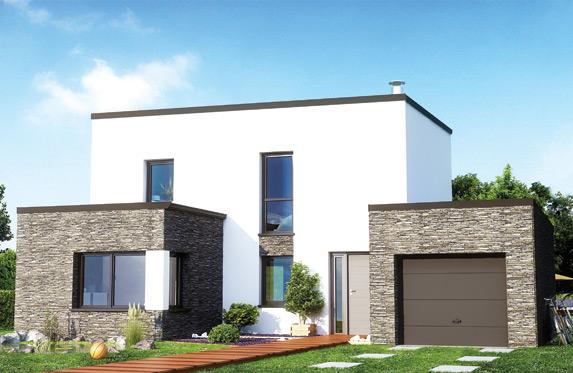 De maison contemporaine toit plat achat for Achat maison contemporaine