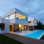photo de maison d'architecte toit plat