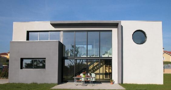 Jolie photo de maison d 39 architecte toit plat for Maison architecte toit plat