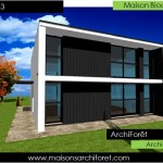 photo de maison de star d'architecte toit plat