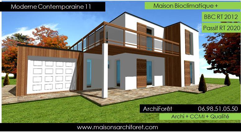 de maison de star d'architecte toit plat 2014