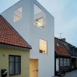 photo de maison de ville moderne