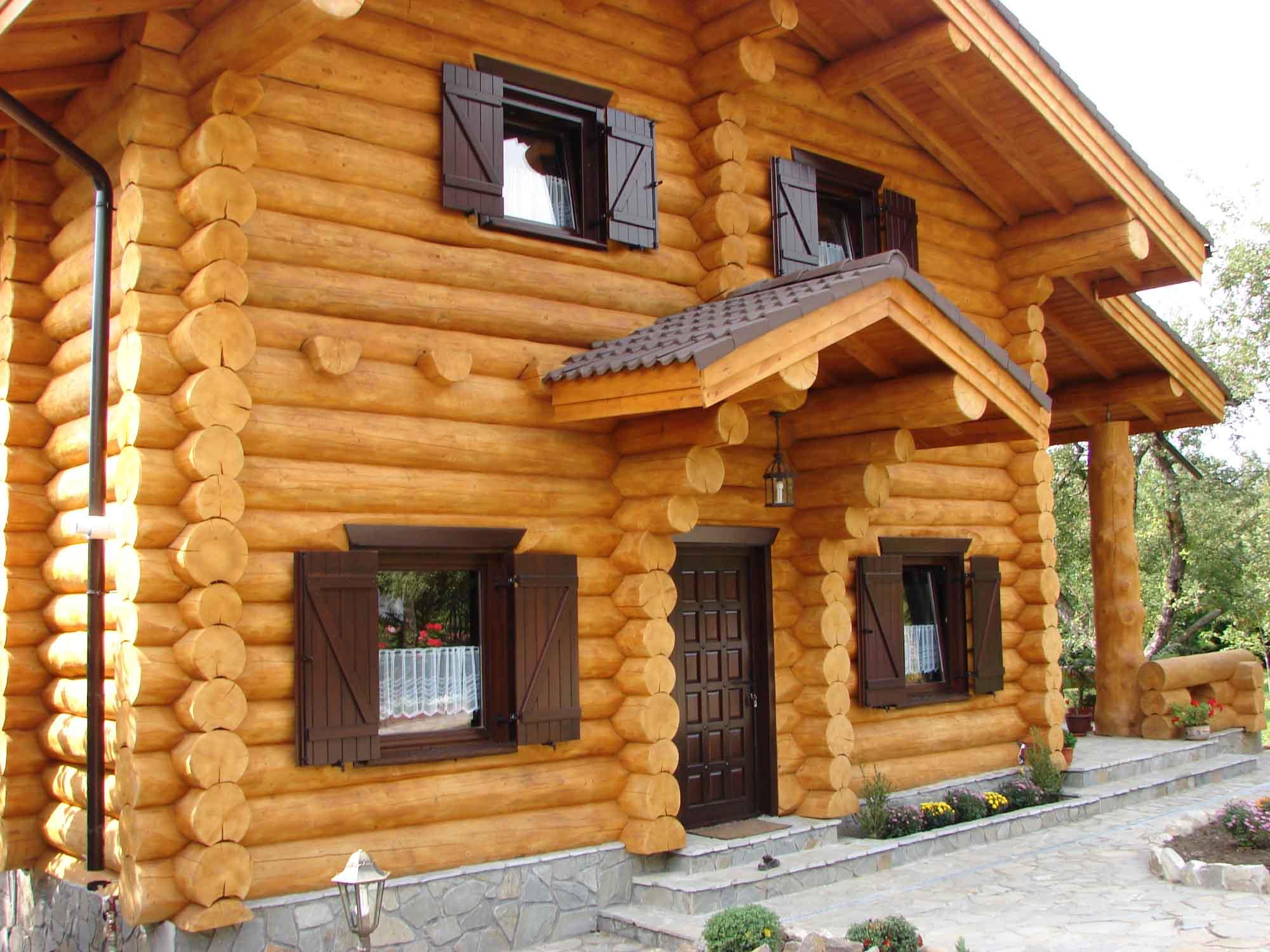 Photo de maison en bois for Modele de maison en bois