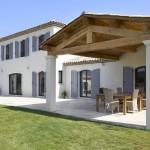 photo de maison provencale contemporaine