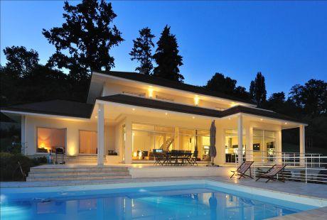 Maison d architecte for Belle architecture moderne