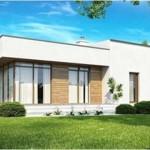 maison d'architecte toit plat
