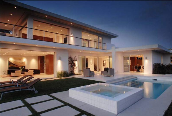 maison de star avec piscine. Black Bedroom Furniture Sets. Home Design Ideas
