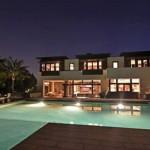 maison de star avec piscine