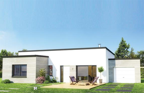 Voir maison des iles moderne toit plat for Voir maison