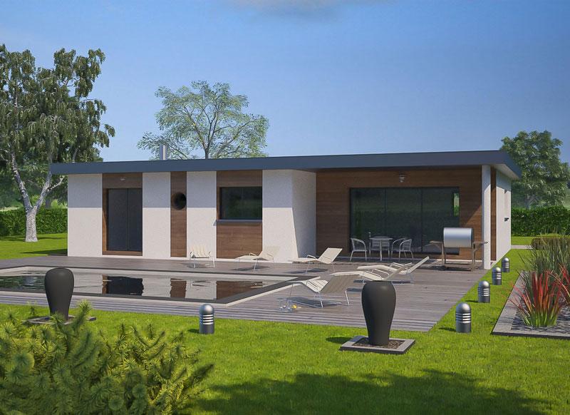 Des iles moderne toit plat prix - Maison toit plat prix ...