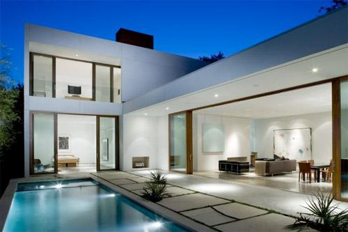 Maison design avec piscine for Idee maison design