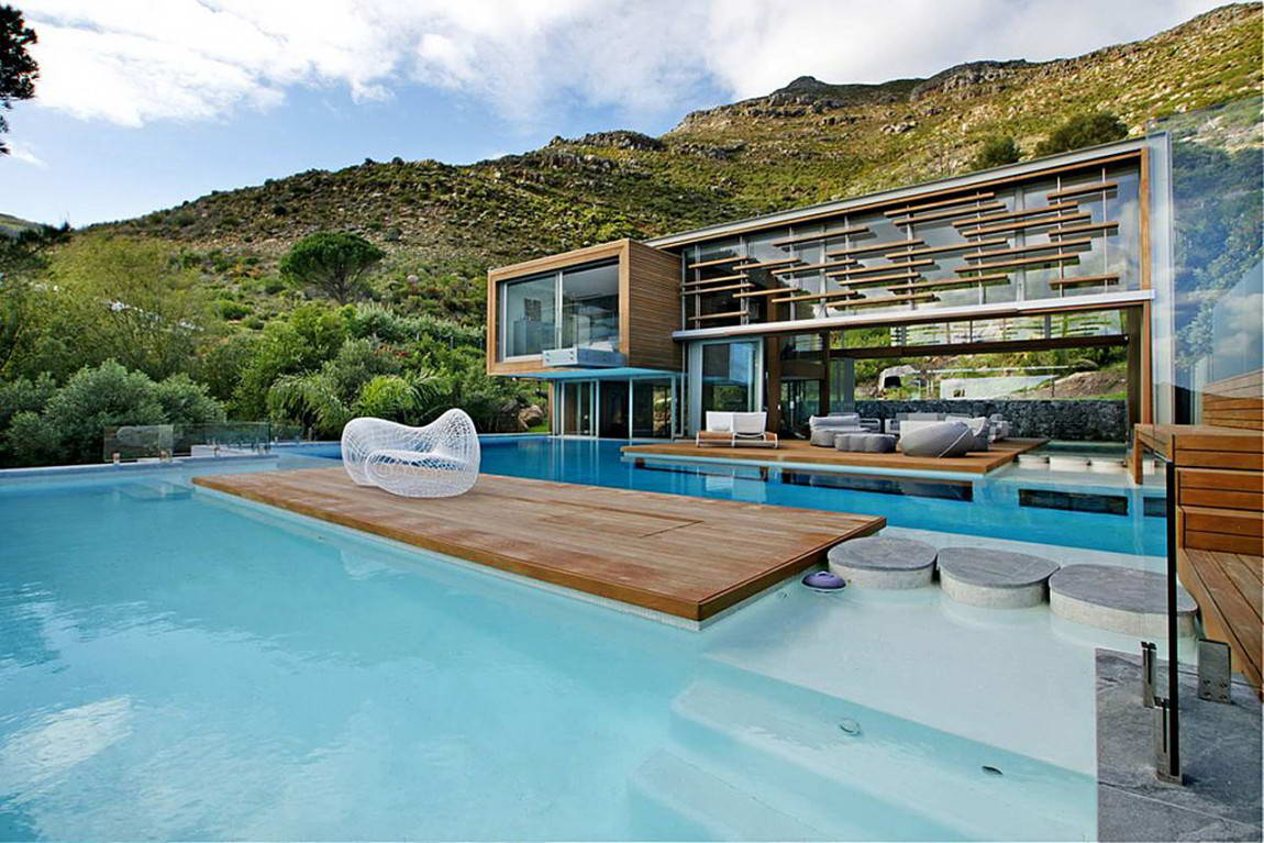 Maison design avec piscine - Photo maison avec piscine ...