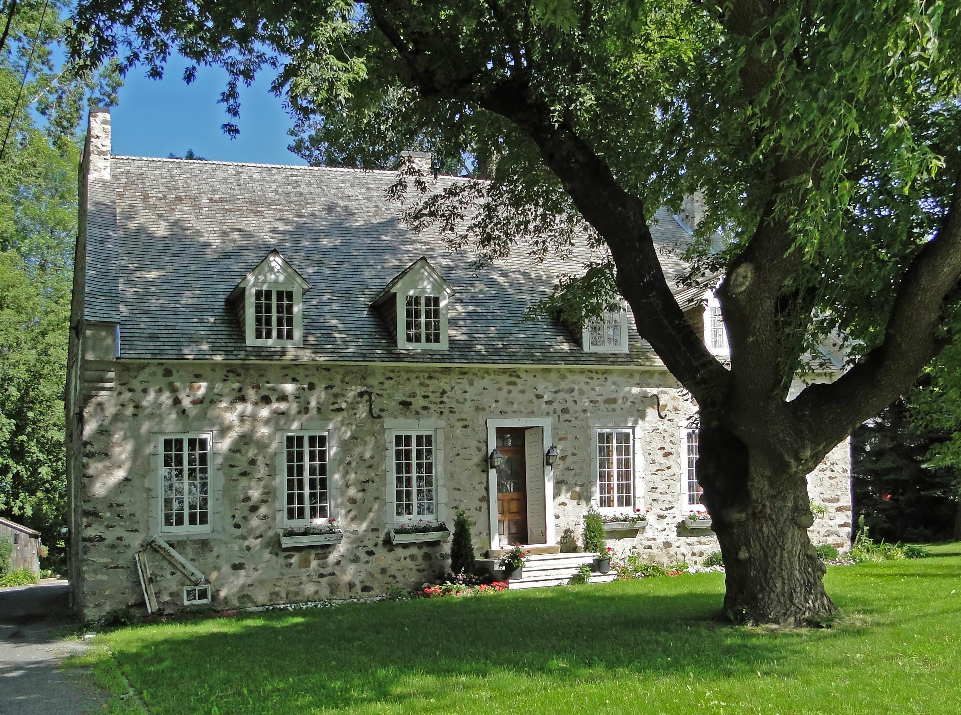 Cottage Style Homes Maison En Pierre